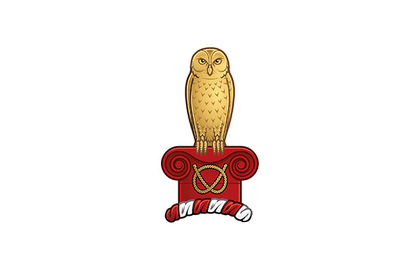 The owl of the 500万彩票网官网 coat of arms
